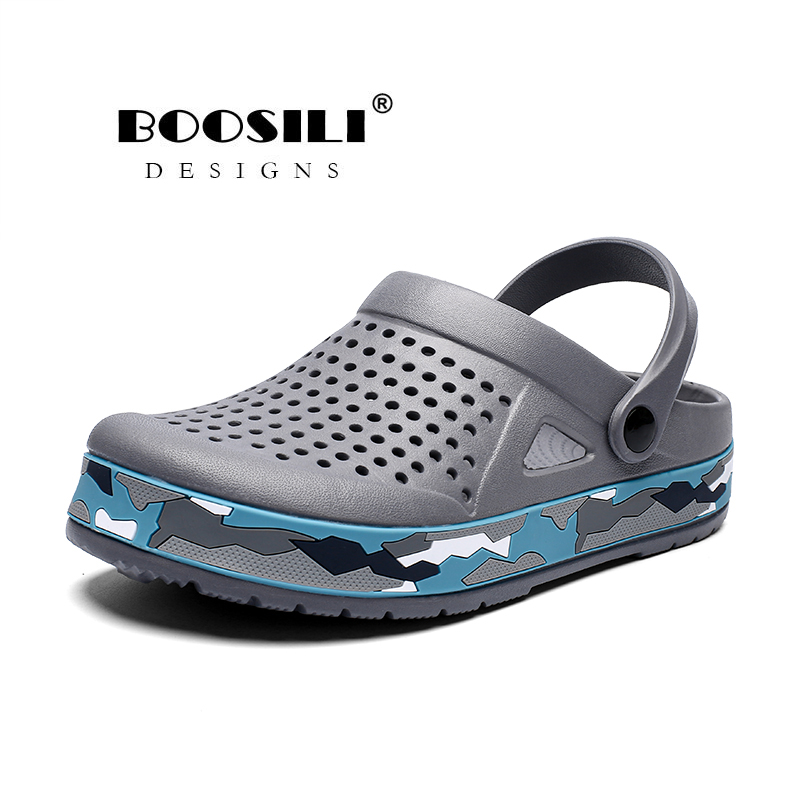 Sapato Feminino New Mens Eva Sandal High Quality Men's Garden Shoes Summer Sandals Breathable Clogs Lightweight Big Size 45