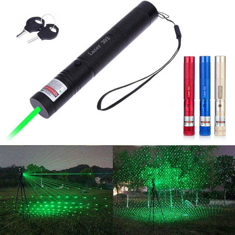 303 532nm Green Laser Sight Laser Pointer Pen High Powerful Hunting Laser Device Adjustable Focus(without Battery)