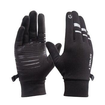 Outdoor Riding Waterproof Gloves Men Women Winter Touch Screen Windproof Mittens Glove Female Sports Warm Velvet Cycling - discount item  46% OFF Gloves & Mittens