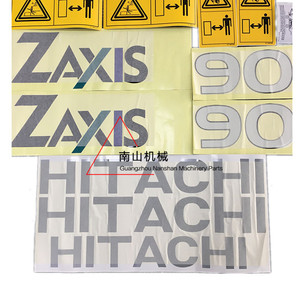 Image 4 - free shipping Hitachi Zax50/60/70/90/120/200/230/270/330/400 6 Car Sticker Excavator