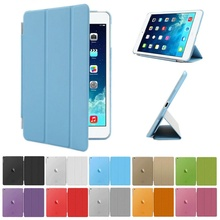 Smart Folio Cover For iPad Air Mini 2 3 4 5 6 Pro 11 12.9 Case A1474 A1475 A1476 A1489