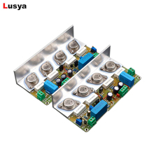 1 pair HOOD JLH2003 22W Pure Class A audio power amplifier board gold sealed tube dual channel upgraded JLH 1969 T1499