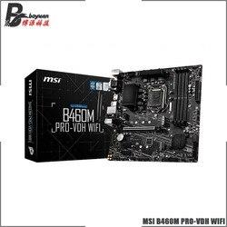 MSI B460M PRO VDH WIFI Micro-ATX Intel B460 M.2 DDR4 SATA 6Gb/s USB 3.1 NEW 128G Support LGA 1200 CPU Motherboard