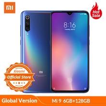 Xiao mi mi 9 mi 9 6 gb 128 gb 글로벌 버전 48mp 트리플 카메라 금어초 855 스마트 폰 지문 nfc amoled 디스플레이