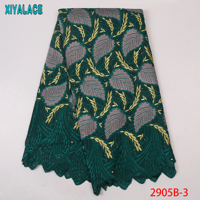 New African Dry Lace Fabric, African French Voile Lace Fabric High Quality,Swiss Voile Lace for Dresses KS2905B-3