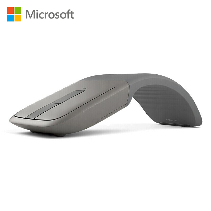 Original Microsoft Arc Touch Bluetooth Mouse Wireless Mouse Blueshin Technology For Arc Surface Laptop Pc