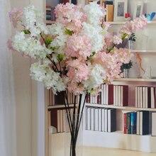 Simulation Kirschblüte Zweig Künstliche Blume Gefälschte Pflanzen Hochzeit Dekoration Home party Garten Decor Frühling