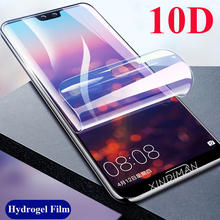 XINDIMAN Front+Back Full hydrogel Film for huawei P20 P20pro soft screen protector P20lite 10D cover