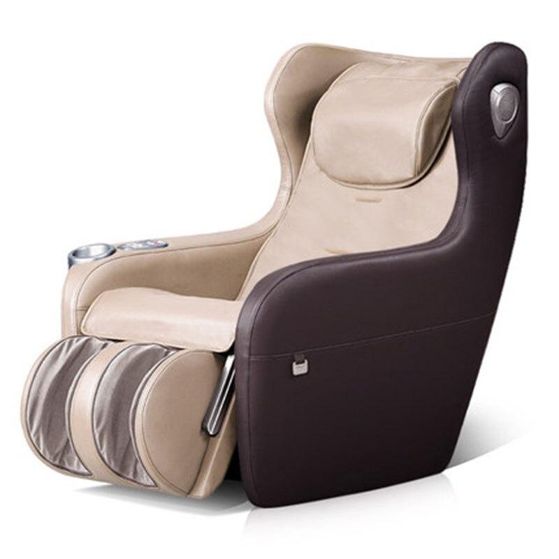 Electric Neck Shoulder Back Waist Massage Chair Bluetooth Audio Home Automatic Old Man Adult Wheel Mini Full Body Massage Sofa