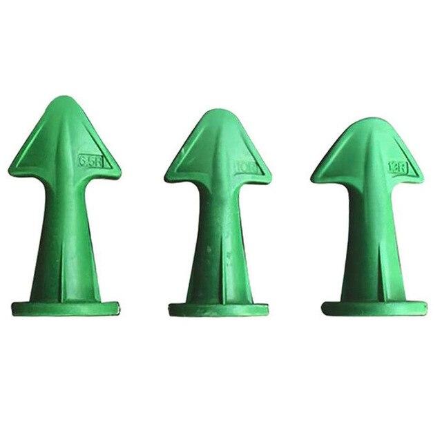 3pcs Multi-functional Silicone Sealant Nozzle Scraper Floor Caulking Tools Silicone Sealant Nozzles Kit Home Improvement 2