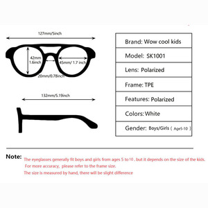 Image 5 - ยืดหยุ่นแว่นตากันแดดเด็กPolarizedเด็กPilotแว่นตาTR90 UV400สำหรับ7 12ปีเด็กหญิงเด็กแว่นตาเด็ก