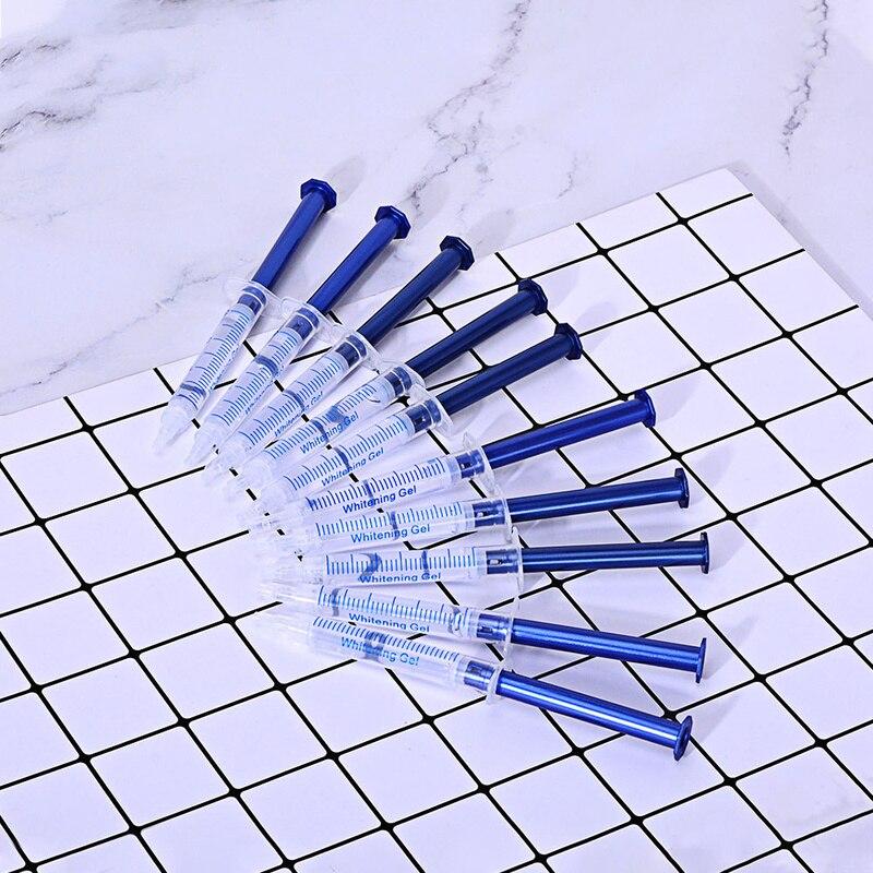 5Pcs Teeth Whitening 44% Peroxide Dental Bleaching System Oral Gel Kit Tooth Whitener Gel Teeth Gel Tooth Whitening Products