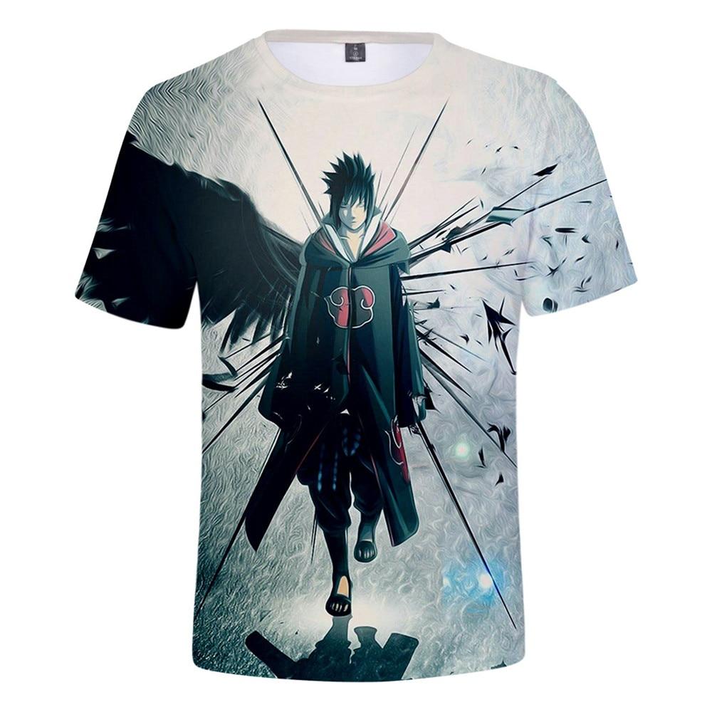 Summer font b clothing b font men font b women s b font T shirt anime