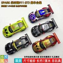 Funken 1:64 Porsche 911 GT3 Le Mans rennen auto simulation legierung auto modell sammlung display