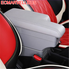 Accessories Car-styling Arm Rest Car Decoration Automobiles Accessory Interior Automovil Armrest Box 17 18 FOR Toyota Yaris