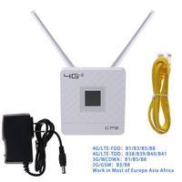 Desbloqueado 150mbps 4g lte cpe móvel wifi  roteador sem fio com slot de porta lan sim