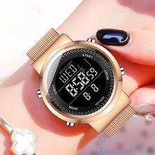 SANDA Brand Digital Watch Women Sport Watches