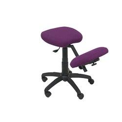 Büro der Hocker Ergonomische swivel und dimmbare in hohe höhe bis sitz polster in BALI tissue Mulberry Farbe (KNIE