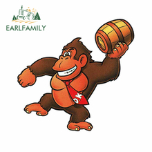 Bumper-Decal Car-Sticker Donkey Kong Vinyl Arcade EARLFAMILY Tuning-Suitcase for Cask