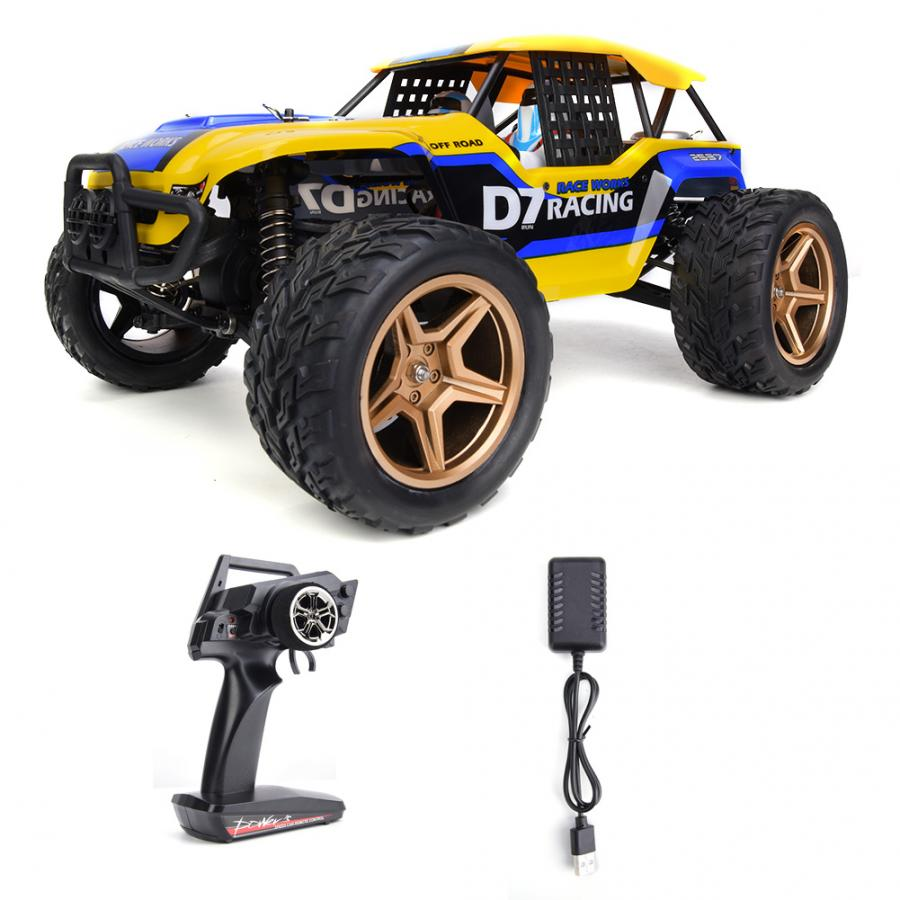Wltoys XK 12402-A D7 2.4GHz 1:12 RC Car 4WD 45KmH Desert Buggy Car Rock Racing Crawler Off Road Car All Terrain Vehicles Truggy