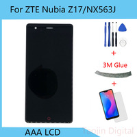 For ZTE Nubia Z17 LCD For ZTE Nubia NX563J NX563 LCD Screen Touch Digitizer Assembly