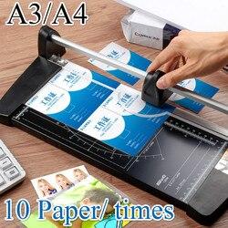 Портативный сплав A4 A3 прецизионный резак для бумаги фото триммеры Diy скрапбук режущие инструменты Режущий коврик доска товары для дома и оф...