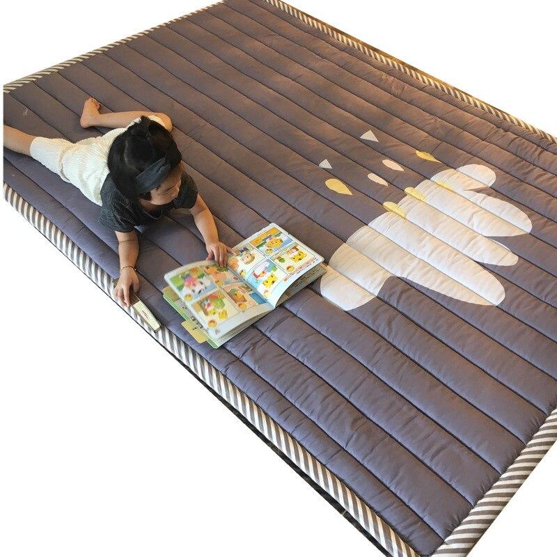 Ins tapis de bande dessinée rembourré pliant bébé tapis d'escalade bébé siège jouer jouet pad couverture