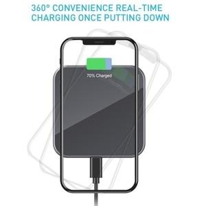 Image 2 - 15W אלחוטי מטען עבור iphone 12 פרו USB מהיר מטען QC 3.0 טלפון מטען תחנת Dock עבור Samsung S10 xiaomi מהיר טעינה