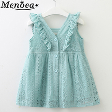 Kid baby clothes Hot Style 2016 Spring New Cotton Girl Casual White Princess Flare Sleeve Dress Cute Fashion Dress Evening dress 2016 spring summer new style girl lace dress baby thick disorderly princess temperament full dress exceed immortal