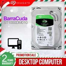 "Seagate 1 Tb 3.5 ""Desktop Hdd Interne Harde Schijf 7200 Rpm Sata 6 Gb/s 64 Mb Cache Hdd disk Voor Computer ST1000DM010"