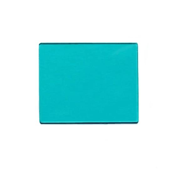 Cyan Blue Filter Visible Light Filter QB21 46*33*0.7mm