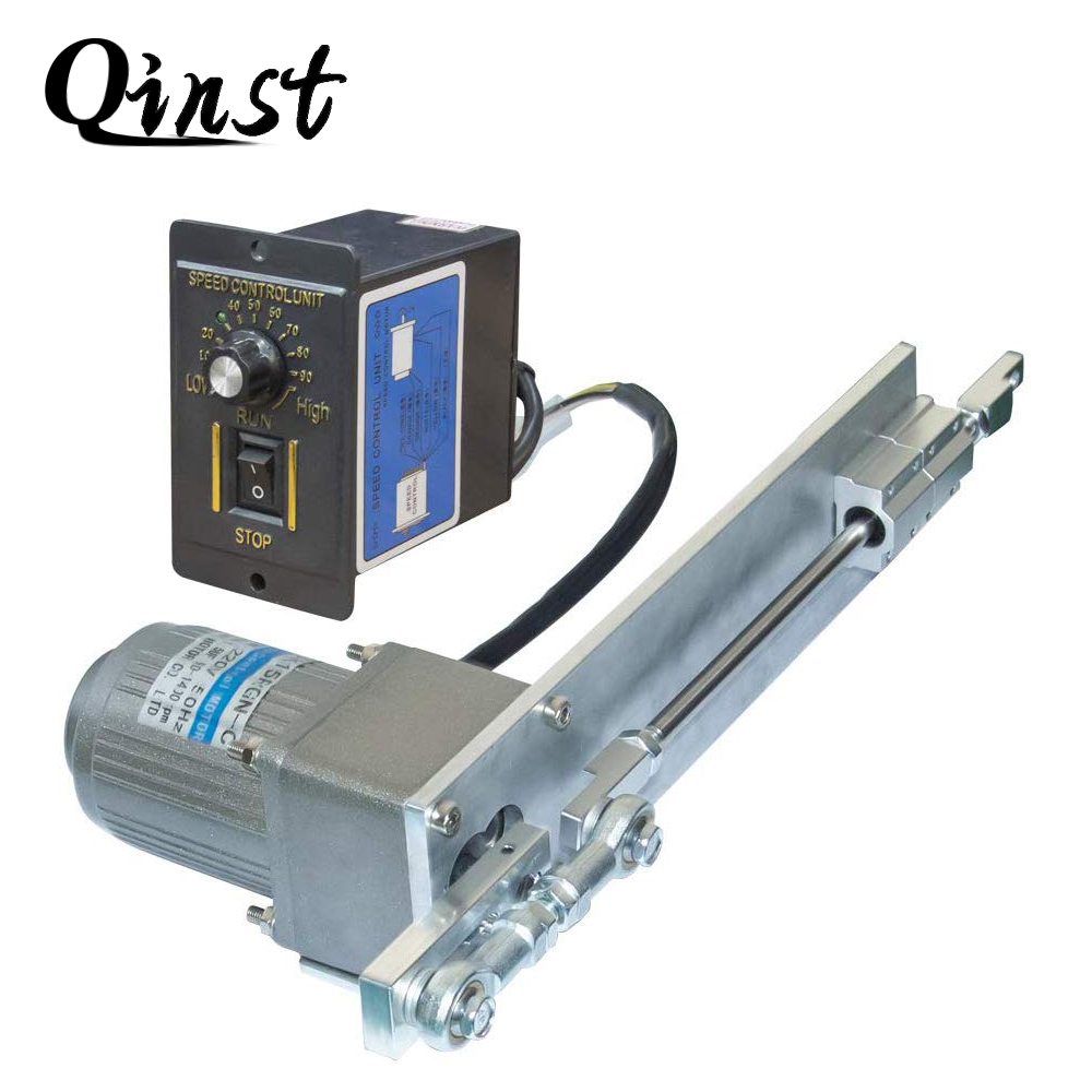 AC Reciprocating Linear Actuator Stroke 100mm/4inch + AC Speed Controller Kits DIY 110/220V For Squirt Spraying Pellet Mechanism