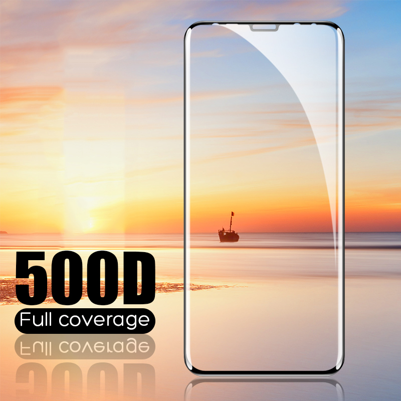 500D Full Curved Tempered Glass For Samsung Galaxy S8 S9 Plus Note 8 9 Screen Protector On Samsung S6 S7 Edge S8 Protective Film