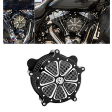 Air Filter Cleaner Filter For Harley Sportster XL Touring Street Glide Road Glide Dyna Softail Motorcycle Accessories 2000-2020
