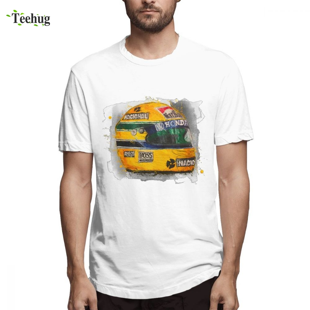 2019 New Arrival Ayton Senna Formula 1 Racing Car <font><b>F1</b></font> <font><b>T</b></font> <font><b>shirt</b></font> For Boy Funny Top Design For Boy Pure Cotton Camiseta image