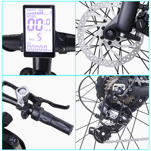 Image 4 - חשמלי אופני 1000W ebike 2019 חדש חשמלי אופני הרי olding חשמלי אופני אופני eletrica חשמלית אופני 48v