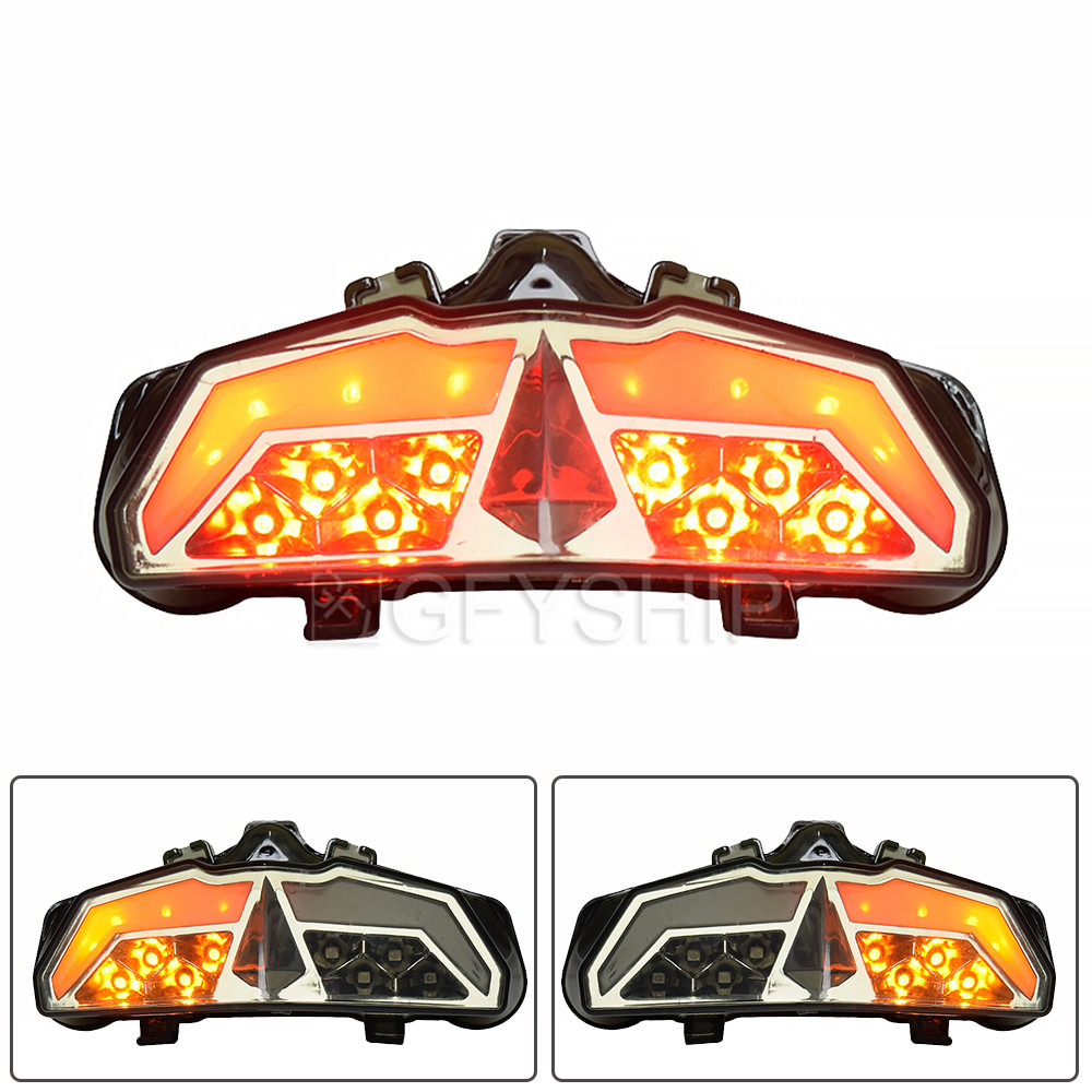 For Yamaha MT15 2017 2018 2019 M-Slaz 17 18 19 MT-15 MT 15 Motorcycle Tail Light LED Turn Signals Motorcycle Brake Light