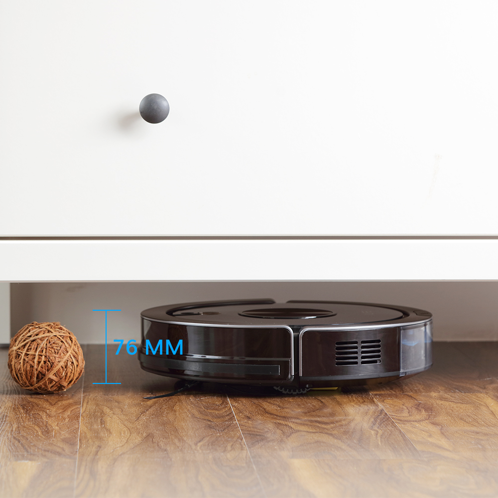 ILIFE A9s Robot Vacuum Cleaner Vacuuming & Wet Mopping Smart APP Remote Control Camera Navigation Planned Cleaning Large Dustbin 6