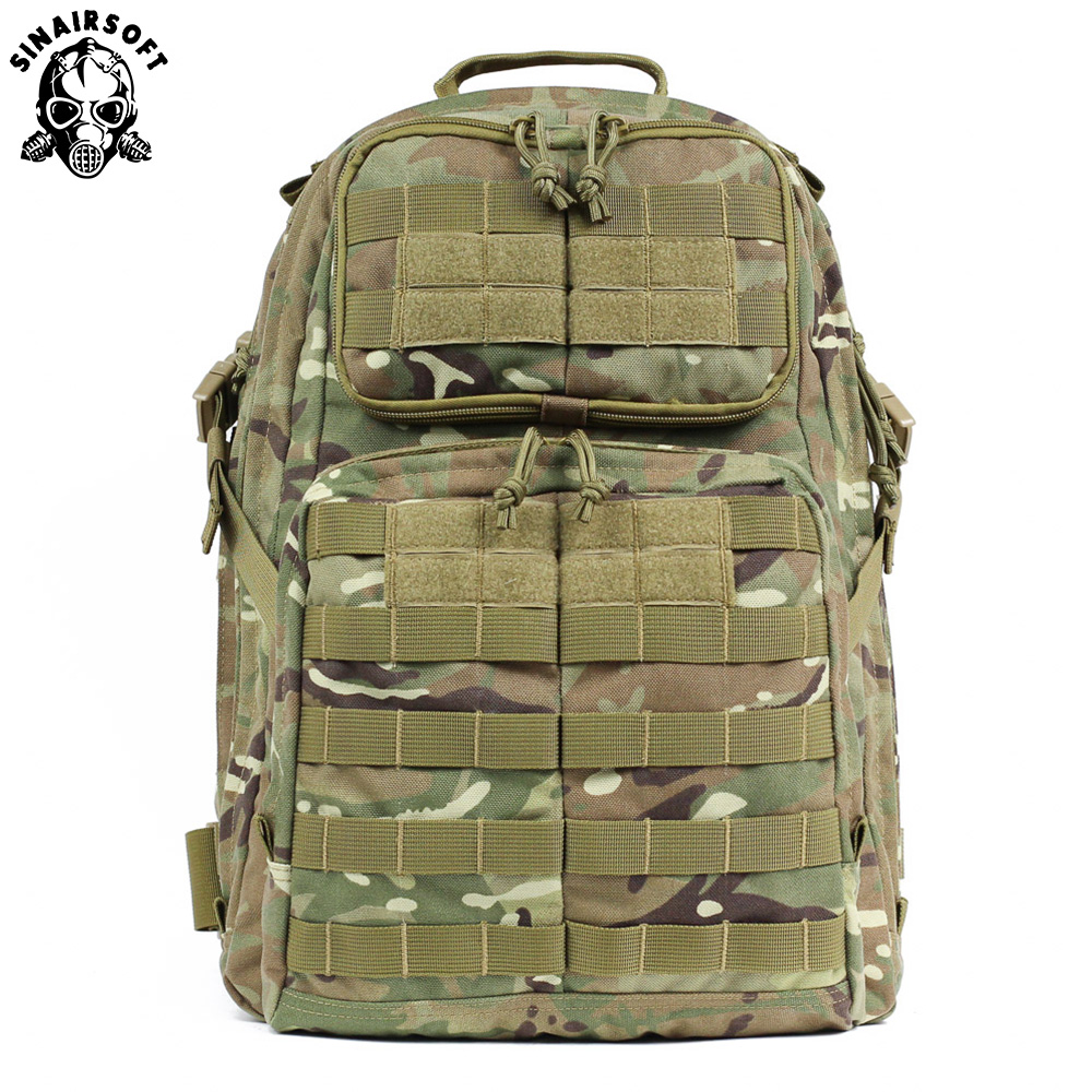 SINAIRSOFT 55L Outdoor Molle Waterproof Tactical Backpack Mountaineering Hunting-Bags Trekking Outdoor Military Fishing