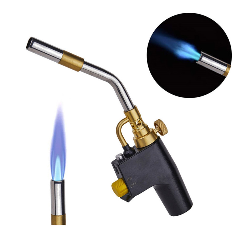 Gas Soldering Plumbing Blow Torch Soldering Propane Instant Professional High Heat Welding Plumbing Torches Brazing Map Burner