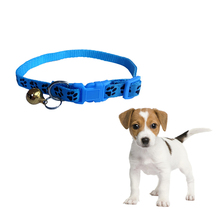 Dog Collar Adjustable Pet Dog Cat Collar reflective pet bell collar suitable for cats and small dog supplies Leash Accessories