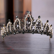 Fashion Vintage Crystal Crown Bride Wedding Hair Accessories For Women Wedding Dress Accessories Bridal Crown Accessories