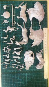 Image 5 - 1/24 Resin Figure Model Kit Unassambled Unpainted G657
