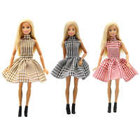 For Original Barbie Fashion Doll Clothes Beautiful Girls Style Wear Blouse Dress Skirt for 29cm 1/6Dolls Toys Accessories Cloth