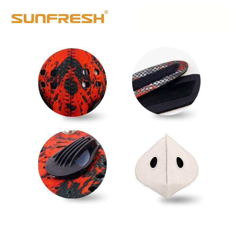 Anti dust Anti Pollution Mask Half Face Ski Snowboard Bike Motorcycle Cycling Mask Washable and Reusable Neoprene Half Face Mask in Masks from Beauty Health