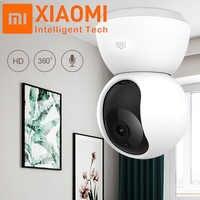 Original Xiaomi Mijia 1080P 360 grados hogar panorámico WiFi IP cámara de visión nocturna cámara web videocámara AI movimiento mejorado