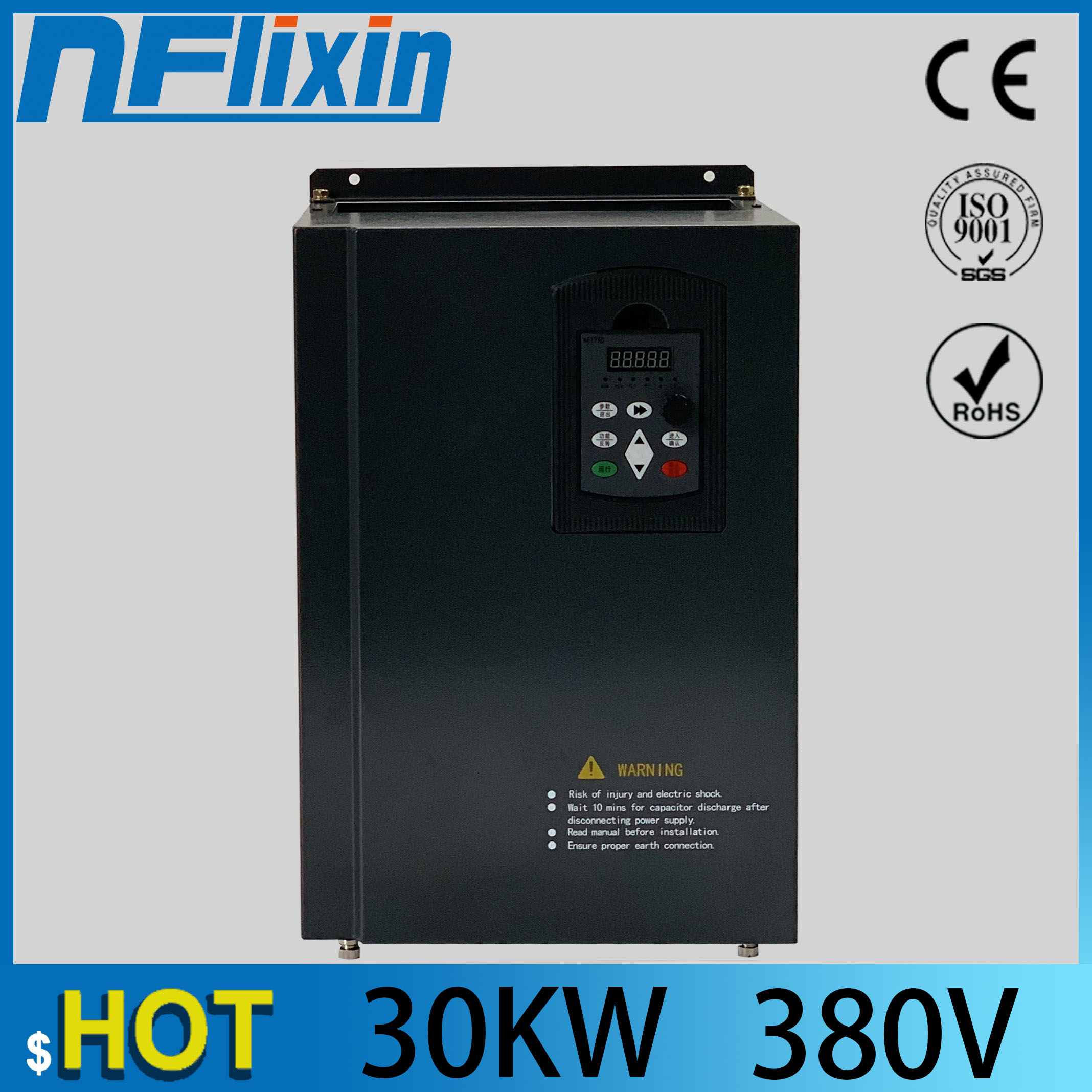 30kw 40HP 300hz general VFD inverter frequency converter 3phase 380V in 3phase 0-380V out 60A