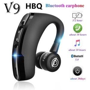 V9 наушники Bluetooth громкой связи Bluetooth гарнитура для Беспроводной гарнитура Бизнес гарнитура диск вызова спортивные наушники для всех смартфонов