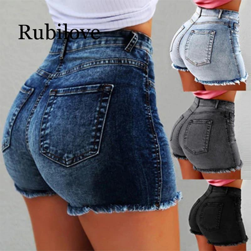 2019 Women Fashion Summer Shorts Party Nightclub Sexy Shorts Retro Shorts Pocket Decoration Skinny Denim Shorts For Women