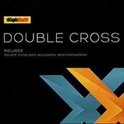 Double Cross by Mark Southworth (1 X Stamper + 1 Heart Stamper) Magic Tricks Magician Close Up Street Illusion Prop X Transfer